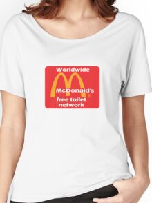 mcToilet Women's Relaxed Fit T-Shirt