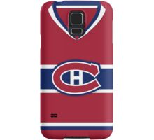Montreal Canadiens 2007-15 Home Jersey Samsung Galaxy Case/Skin