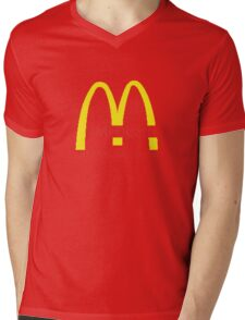 McDeath Mens V-Neck T-Shirt