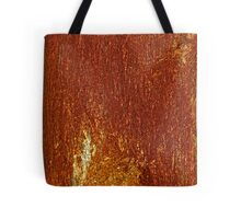 "Psychedelic bizzare landscape of rusty. ""Rusty Cage"" by Johnny Cash & Brown Sugar . Tote Bag"