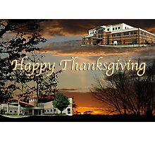 Happy Thanksgiving From Beacon Photographic Print