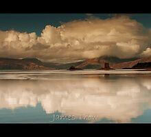 Castle Reflections by james  thow
