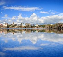 Tenby In Reflections by Simon West