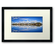 Tenby In Reflections Framed Print