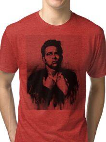 Rebel Half Tone Tri-blend T-Shirt