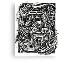 The Circles Around Me... Canvas Print