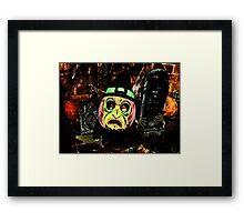 Trick or Treat, Hugo Framed Print