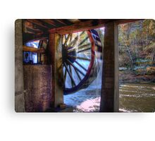 Wheel in Motion Canvas Print