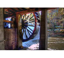Wheel in Motion Photographic Print