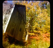 TTV- the old barn through morning light by Jason Platt