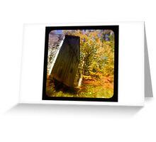 TTV- the old barn through morning light Greeting Card