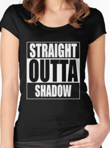Straight OUTTA Shadow - Firefly - Serenity Women's Fitted Scoop T-Shirt