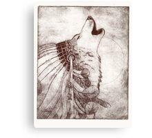 Spririted Ink Canvas Print