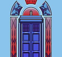 Art Deco TARDIS by FrederickJay