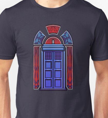Art Deco TARDIS Unisex T-Shirt