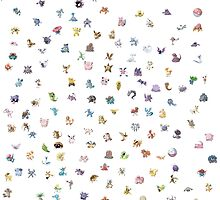 pokemon by cptpuggles