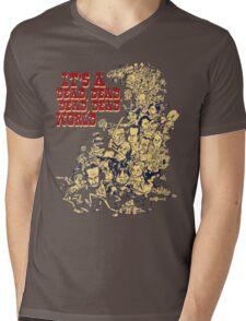 It's a dead, dead, dead, dead world Mens V-Neck T-Shirt