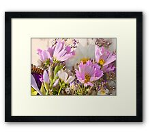 Arsty Cosmo Flowers Framed Print