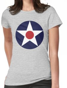 1941 US Air Corps Star Womens Fitted T-Shirt