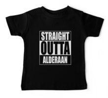 Straight OUTTA Alderaan Baby Tee