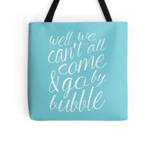 Come & Go By Bubble Tote Bag