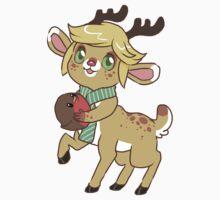 Little Deer One Piece - Short Sleeve
