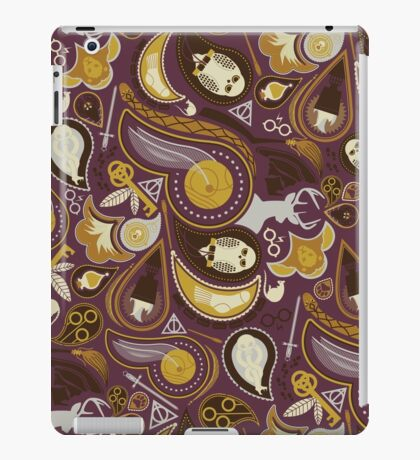 Potter Paisley iPad Case/Skin