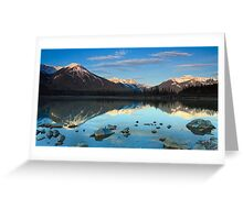 West Vermillion Lake at Sunrise Greeting Card