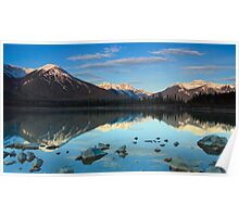 West Vermillion Lake at Sunrise Poster