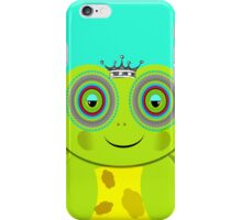 Funny Prince Charming Cartoon Frog iPhone Case/Skin