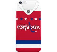 Washington Capitals Alternate Jersey iPhone Case/Skin