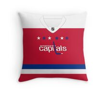 Washington Capitals Alternate Jersey Throw Pillow