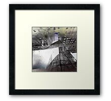 neither here nor there Framed Print
