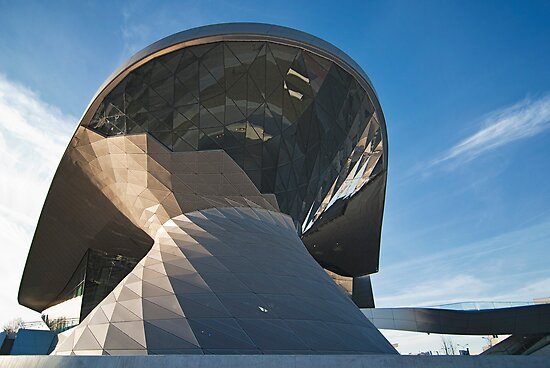 BMW Welt: Curving Lines by Kasia-D