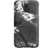 black and white greenery Samsung Galaxy Case/Skin