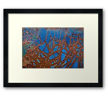 Tangled Webs Framed Print