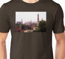 Badshahi Mosque and Lahore Fort Unisex T-Shirt