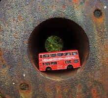 Little Red Bus by EmilyMead