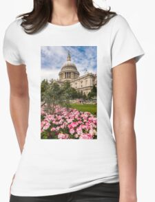 St Pauls Summer Womens Fitted T-Shirt