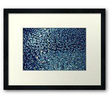 Blue Diamonds Framed Print