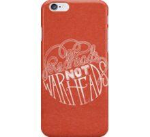 Redheads Not Warheads iPhone Case/Skin
