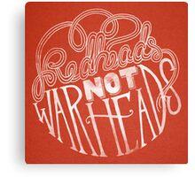 Redheads Not Warheads Canvas Print