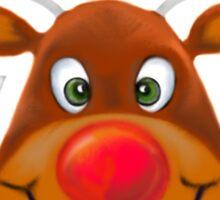 Rudolph Sticker