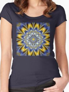 FLASHING STAR Women's Fitted Scoop T-Shirt