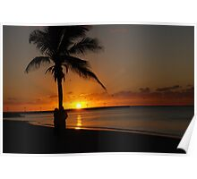 Sunrise in Key West Florida Poster