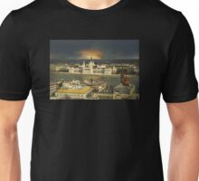 Budapest parliament with dramatic sky Unisex T-Shirt