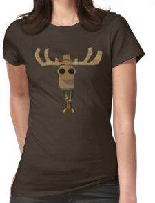 Gorillaz 16-2000 Moose Standalone Womens Fitted T-Shirt