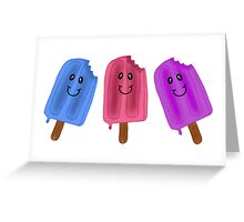Ice Cream:) Greeting Card