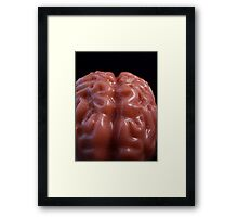 I Want to Eat Your Brains! (Zombie's Lament) Framed Print