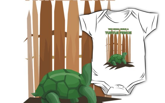Turtle Fence by designpickles